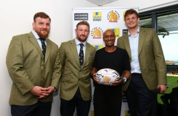 Exeter Chiefs signed ball for Phabkids!